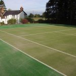 Tennis Court Refurb Process