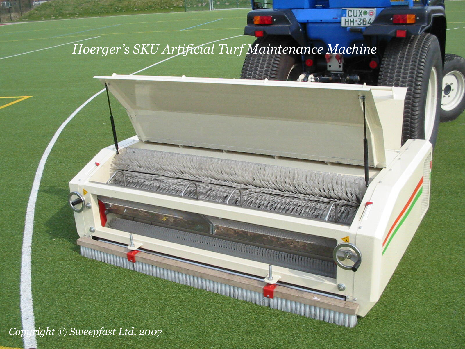 Hoerger SKU1500 3G Pitch Cleaning Machine