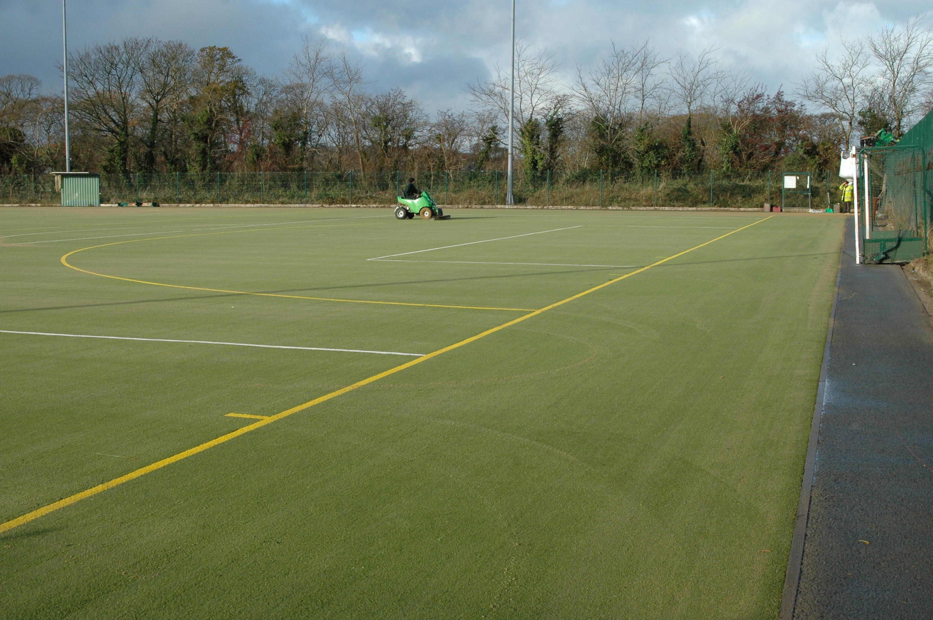 After Pitch Refurb
